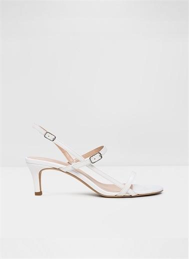 Aldo Rowy-Tr - Beyaz Kadin Topuklu Sandalet Beyaz